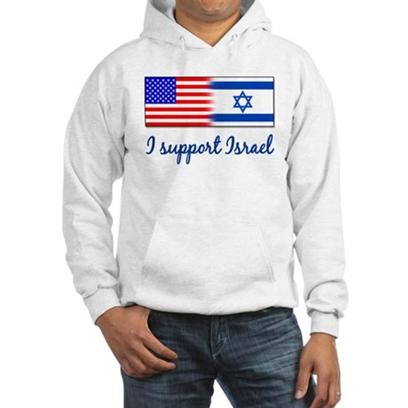 I Support Israel Hooded Sweatshirt