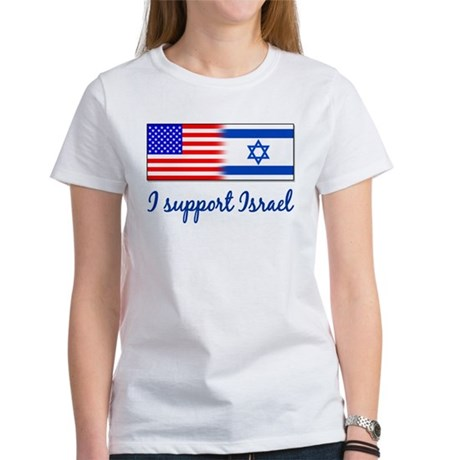 I Support Israel Women's T-Shirt