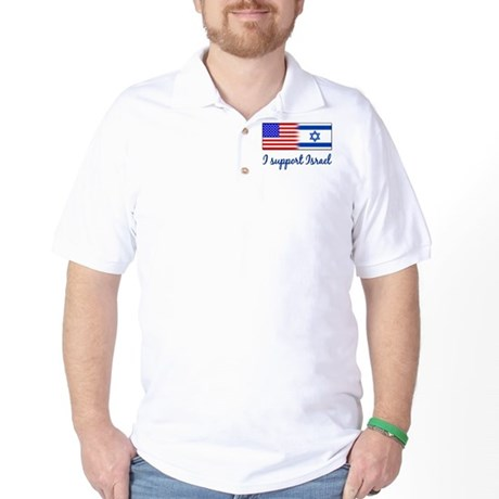 I Support Israel Golf Shirt