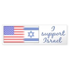 I Support Israel Bumper Bumper Sticker