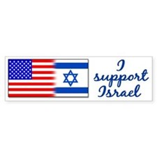 I Support Israel Bumper Bumper Stickers