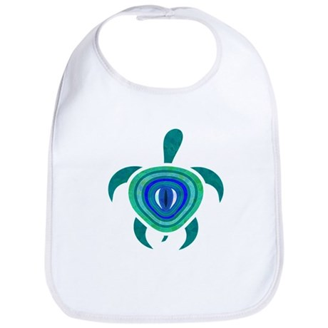 Blue Eye Turtle Bib