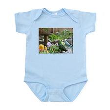 Parrots in the Garden Infant Bodysuit
