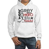 Hero in Life 2 Brain Cancer Jumper Hoody