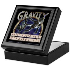 """Gravity"" Keepsake Box"