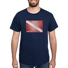 iDive Waterproof Flag T-Shirt