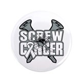 "Screw Retinoblastoma Cancer 3.5"" Button"