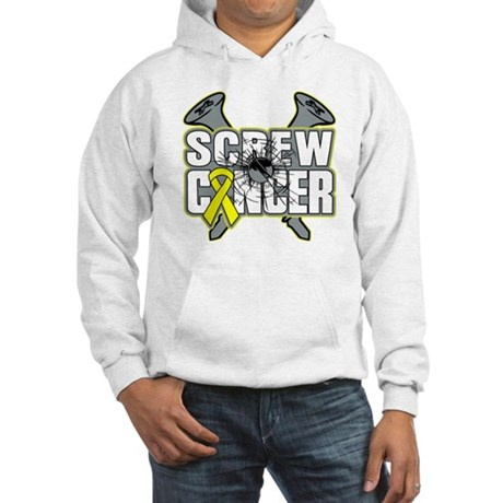 Screw Sarcoma Cancer Hooded Sweatshirt