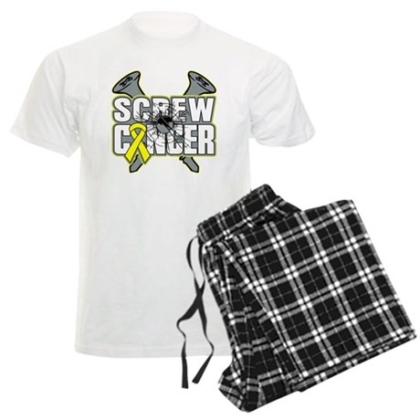 Screw Sarcoma Cancer Men's Light Pajamas