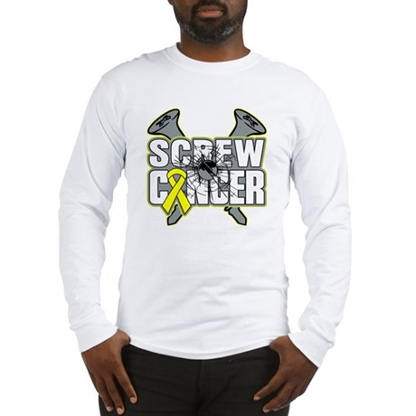 Screw Sarcoma Cancer Long Sleeve T-Shirt