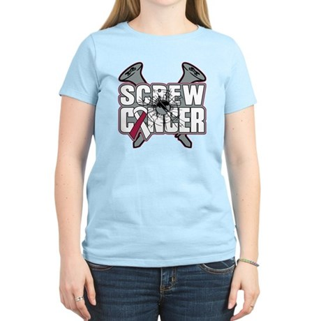 Screw Throat Cancer Women's Light T-Shirt