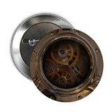 "Porthole - Clockwork 2.25"" Button (10 pack)"