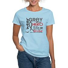 Hero in Life 2 Brain Cancer T-Shirt
