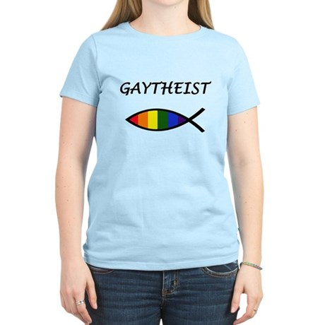Gaytheist Women's Light T-Shirt