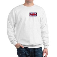 """British Flag"" Sweatshirt"