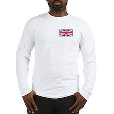 """""""British Flag"""" Long Sleeve T-Shirt"""