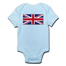 """British Flag"" Infant Creeper"