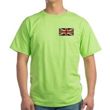 """British Flag"" (front&back) T-Shirt"