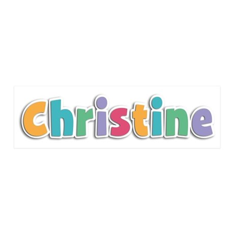 Christine Spring11 21x7 Wall Peel