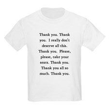 Thank You Kids T-Shirt