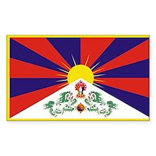 Tibet Flag Decal