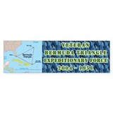 Bermuda Triangle Bumper Bumper Sticker