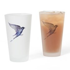 Purple Martin GIFT Drinking Glass