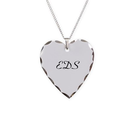EDS Necklace Heart Charm