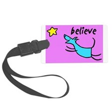 300believe.jpg Luggage Tag