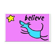 300believe.jpg Rectangle Car Magnet
