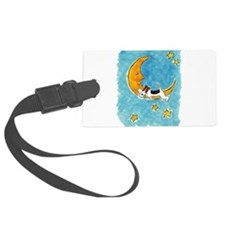 WireFoxMoon.png Luggage Tag