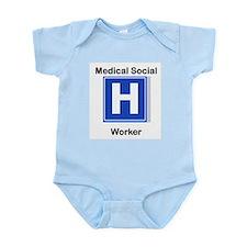 Medical Social Worker Infant Creeper