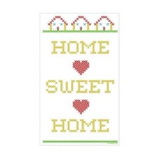Home Sweet Home Rectangle Decal
