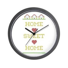 Home Sweet Home Wall Clock
