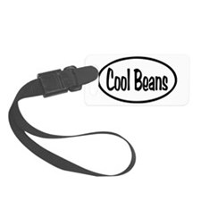 Cool Beans Oval Luggage Tag