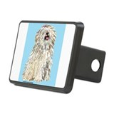 bluebackWHITEPuli.png Rectangular Hitch Cover