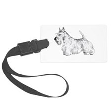 Scottish_Terrier.png Luggage Tag