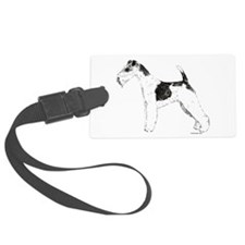 WireFoxTerrier.png Luggage Tag