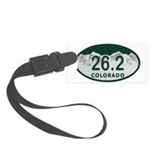 26.2 Colo License Plate Luggage Tag