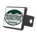 Colorado Springs Colo License Plate Hitch Cover