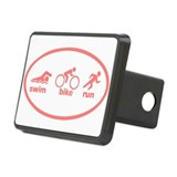 Swim Bike Run Hitch Cover