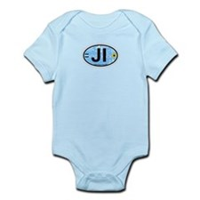 Jekyll Island GA - Oval Design. Infant Bodysuit