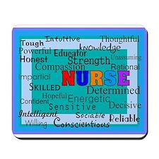 Nurse Blanket blue.PNG Mousepad