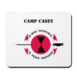 Camp Casey with Text Mousepad
