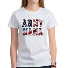 Cute Army grandma Tee