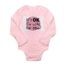 Baby goth Long Sleeve Infant Bodysuit