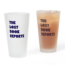The Lost Book Reports Block Drinking Glass