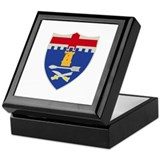 DUI - 11th Infantry Regiment Keepsake Box