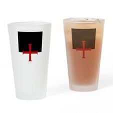 Knights Templar SBE Drinking Glass