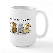 Takes a Village to Help Homeless Dogs Mug